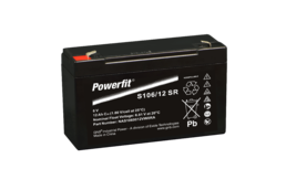 Powerfit S106/12SR, 6V 12Ah
