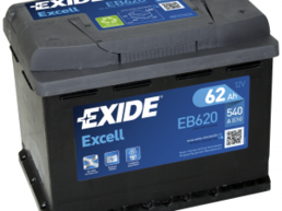 Exide Excell EB620 12A 62Ah
